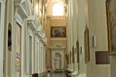 Katedra w Wilnie, nawa boczna.