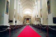 Katedra w Wilnie, nawa główna.