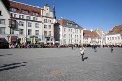 Tallin, Plac Ratuszowy