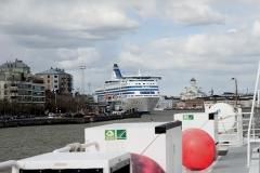 Helsinki, port, nabrzeże promowe