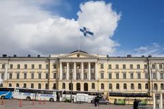 Helsinki, plac Senacki, siedziba rządu Finlandii