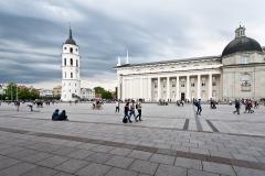Wilno, Plac Katedralny.
