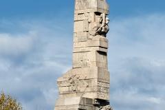 Pomnik Bohaterów Westerplatte.