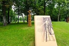 Szetejnie, miejsce urodzin Czesława Miłosza, park dworski