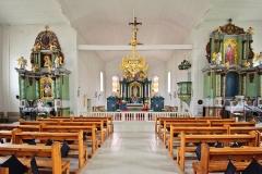 Kiejdany, kościół św. Józefa, nawa główna