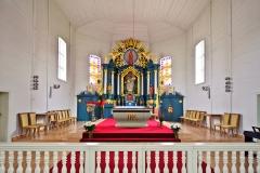 Kiejdany, kościół św. Józefa, ołtarz główny