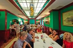 Kiejdany, Starówka, wnętrze restauracji