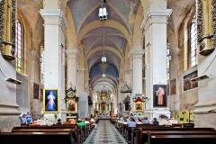 Kowno, kościół św. Jerzego, nawa główna