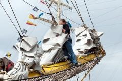 Prace żaglowe na Alexander von Humboldt