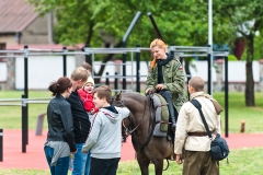 Piknik kawaleryjski w Suwałkach, czerwiec 2017