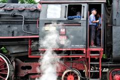Wizyta parowozu Ol49 w Suwałkach, lipiec 2018