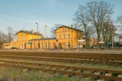 Czersk, dworzec kolejowy zbudowany w 1908 r.