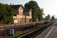 Czersk. Dworzec kolejowy zbudowany w 1908 r. (2012)