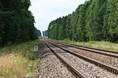 Tory w kierunku Chojnic, tzw. Ostbahn, dla mnie droga w świat (2013)
