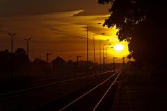 Czersk, perony 1 i 2, semafory wyjazdowe w kierunku Tczewa, Laskowic i Bydgoszczy