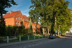 Czersk, budynek liceum im. Wincentego Pola (2015)