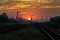 Czersk, semafory wyjazdowe w kieunku Tczewa, Laskowic i Bydgoszczy