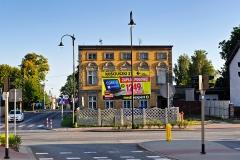 Czersk, skrzyżowanie ulic Kościuszki, Starego Urzędu, Chojnickiej i Lipowej (2018)