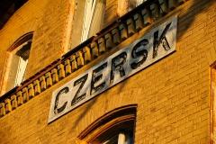 Czersk, dworzec kolejowy (2018)
