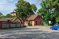 Czersk, dworzec kolejowy, budynek pomocniczy (2018)