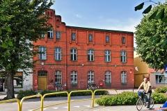Czersk, ul. Dworcowa, budynek poczty, zbudowany ok. 1900 r.(2018)