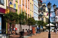 Chojnice, Stary Rynek, pierzeja zachodnia (2018)