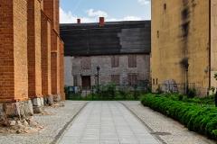 Chojnice, okolice Bazyliki Mniejszej pw. Ścięcia św. Jana (2018)