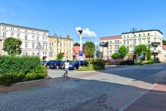 Chojnice, Plac Jagielloński (2018)