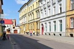 Chojnice, ul. Młyńska, budynki Sądu Rejonowego (2018)