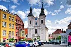 Chojnice, kościół pw. Zwiastowania Najświętszej Maryi Panny (2018)