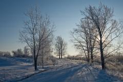 Droga Okliny - Wiżajny, północna Suwalszczyzna (2010)