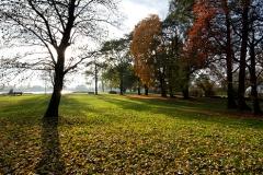 Suwałki, park przy Zalewie Arkadia