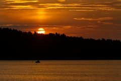 Jezioro Wigry z Bartnego Dołu