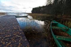 Jezioro Wigry, Słupie