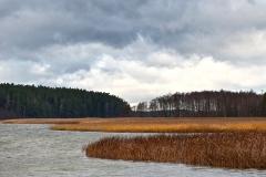 Jezioro Wigry, Piaski