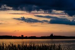 Jezioro Wigry, klasztor w Wigrach